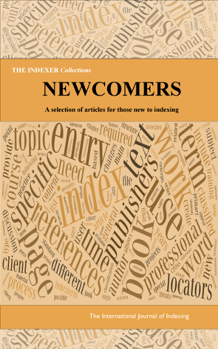 "The cover of the publication ""Newcomers"""