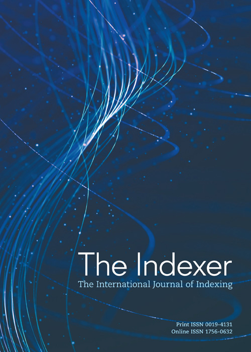 The cover of The Indexer